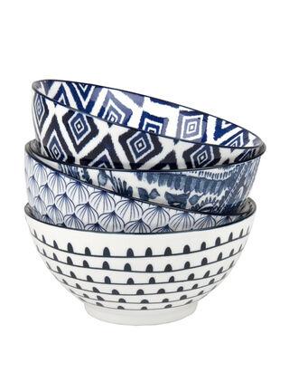 Set 4 Bowls Azules Waechtersbach,,hi-res