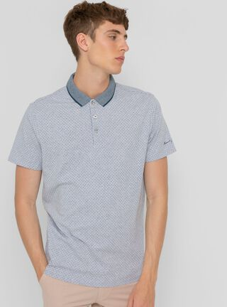 Polera Polo Hampstons Ferouch,Gris,hi-res