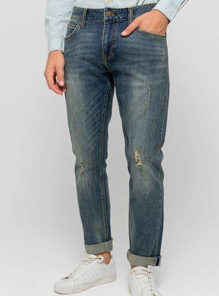 Jeans Classic Lee,Azul Petróleo,hi-res
