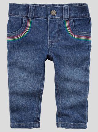 Pantalón Niña 0 A 24 Meses Carter's,Azul,hi-res