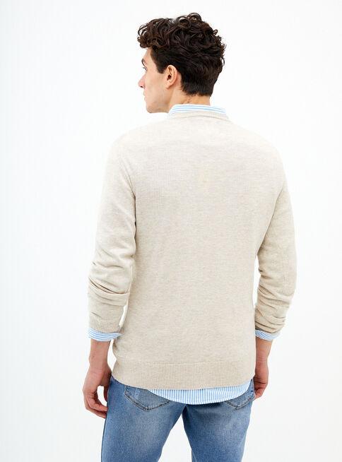 Sweater%20Liso%20Cuello%20V%20American%20Eagle%2CCaf%C3%A9%20Claro%2Chi-res