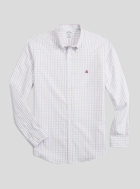 Camisa%20Regent%20Wp%20a%20Cuadros%20Brooks%20Brothers%2CBlanco%2Chi-res