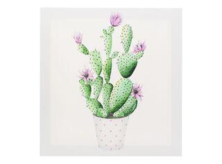 Canvas Cactus 40 x 40 cm Attimo,Diseño 2,hi-res
