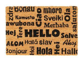 Piesapies Diseños Idiomas Attimo 45 x 75 cm,Diseño 1,hi-res