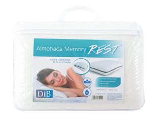 Almohada Memory Rest Dib,Único Color,hi-res