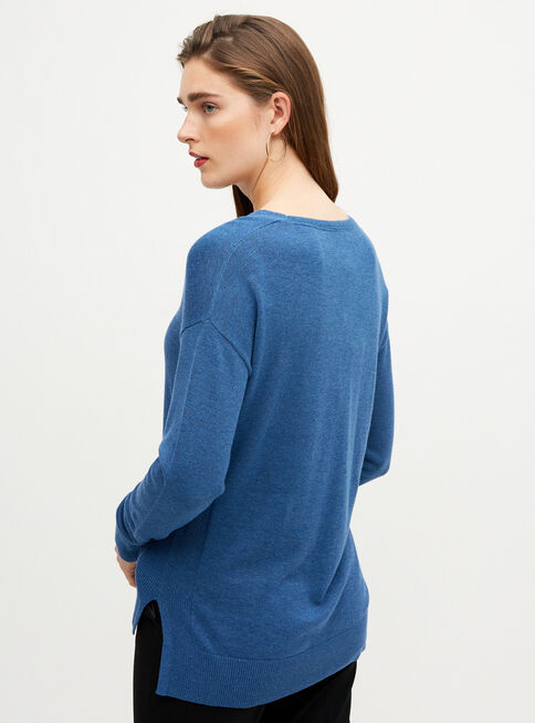 Sweater%20Cuello%20V%20Esprit%2CAzul%2Chi-res