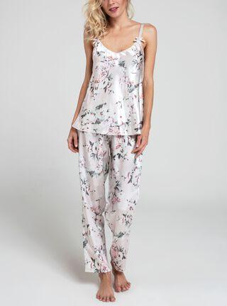 Pijama Estampado Tirante Ajustable BbZ,Rosado Pastel,hi-res