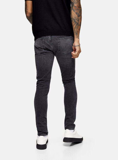 Jeans%20Considered%20Negro%20Lavado%20Stretch%20Skinny%20Topman%2C%C3%9Anico%20Color%2Chi-res