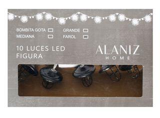 10 Luces Led Farol Alaniz Home,,hi-res
