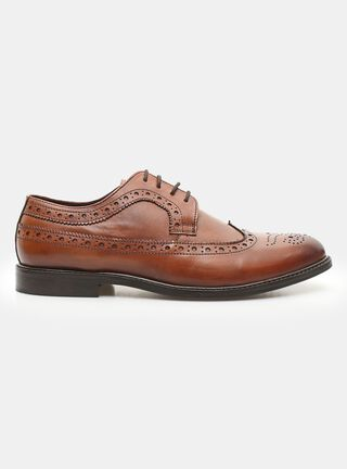 Zapato MR&MS Clasic Brogue Tan Vestir,Cobre,hi-res