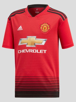 Camiseta Adidas De Local Manchester United 2018,Rojo,hi-res