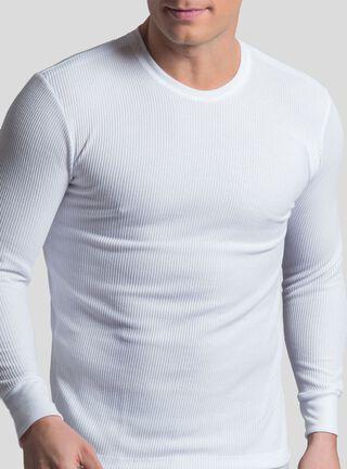 Camiseta Manga Larga Térmica Mota,Blanco,hi-res