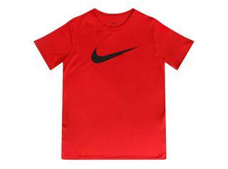 Polera Juvenil Solid Nike,Rojo,hi-res