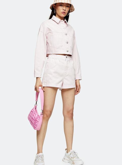 Shorts%20CONSIDERED%20High%20Waist%20Pink%20Denim%20Paperbag%20Topshop%2C%C3%9Anico%20Color%2Chi-res
