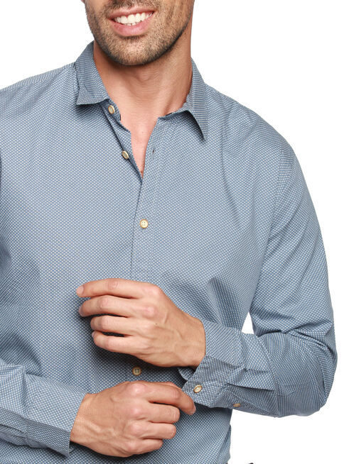 Camisa%20Manga%20Larga%20Slim%20Fit%20Mini%20Estampado%20Alaniz%2CAzul%2Chi-res