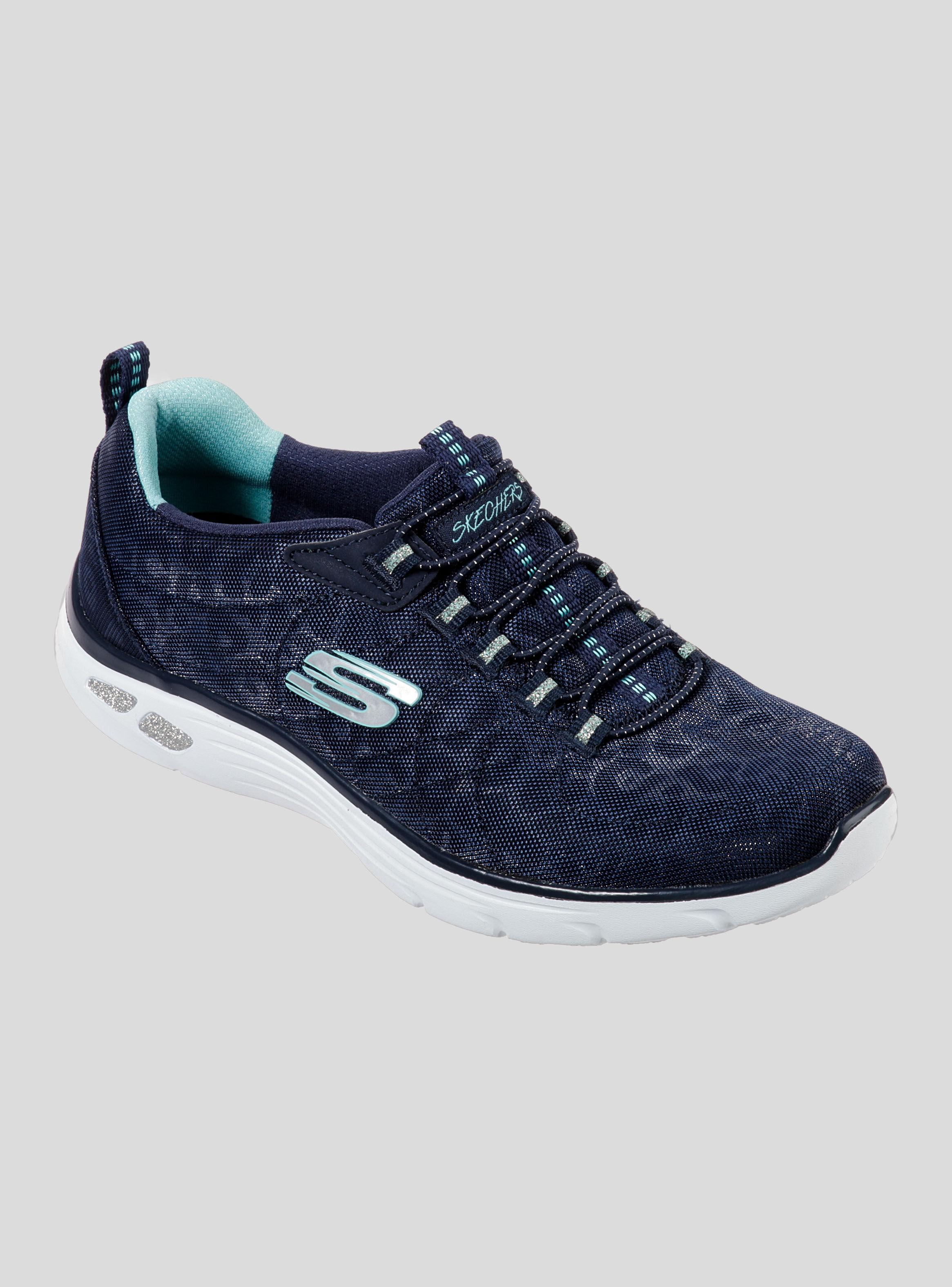 zapatillas azules skechers