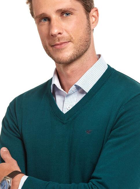 Sweater%20B%C3%A1sico%20Cuello%20V%20Ferouch%2CVerde%2Chi-res