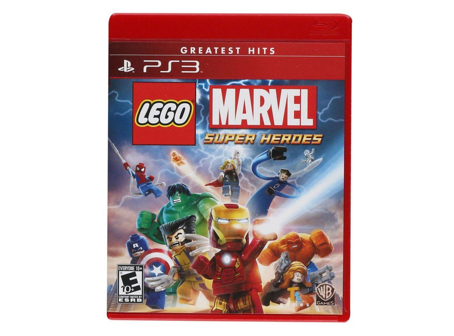 Juego Ps3 Lego Marvel Super Heroes Juegos Ps3 Paris