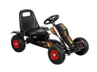 Triciclo Bebeglo Go Kart Fierro Negro,,hi-res