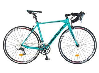Bicicleta Ruta Bianchi Corsa SS 700 Azul Aro 28 Aluminio,Celeste,hi-res