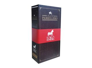 Pack Vinos Toro de Piedra 375 ml 14.5º + Manual Parrillero,,hi-res