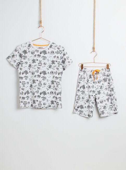 Pijama%20Corto%20Ni%C3%B1o%20Mini%20Print%20Melt%2CLino%2Chi-res