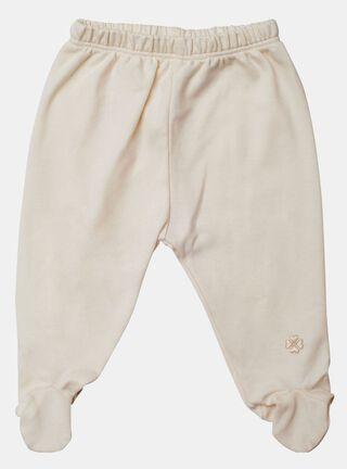 Pantalón Lucky Baby Orgánico Talla 0 a 6 meses,Beige,hi-res