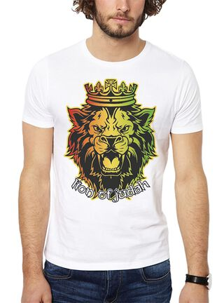 Polera Lion Of Judah Get Out,Blanco,hi-res