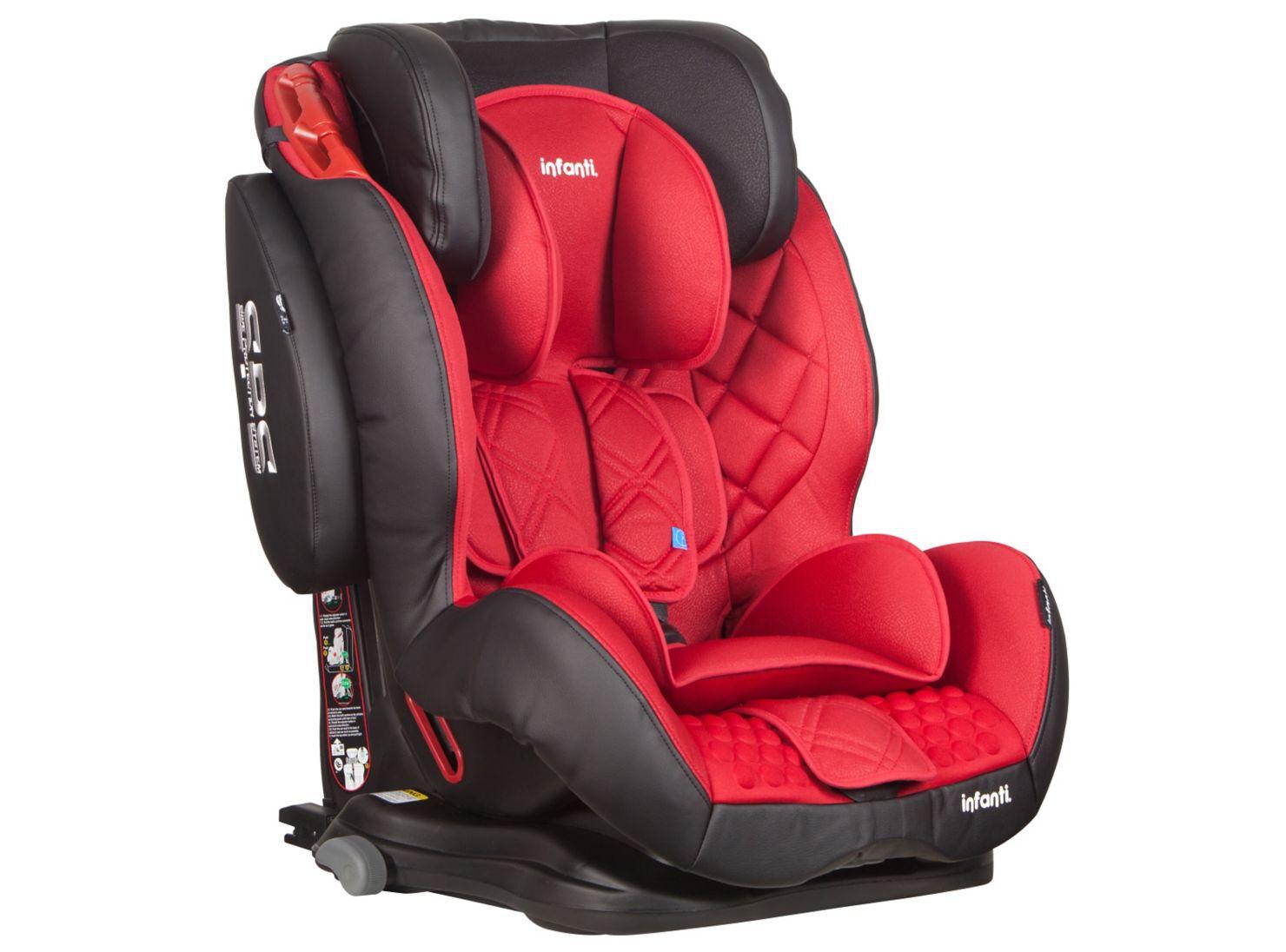 e26eac16f Infanti Butaca Elite SPS Isofix Roja/Negro en Butacas para Auto | Paris