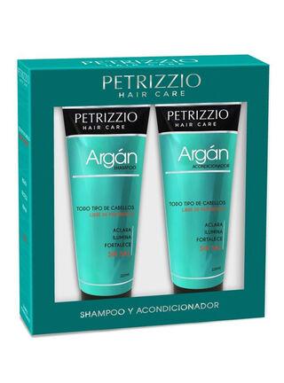 Set Shampoo + Acondicionador Argan Petrizzio,,hi-res