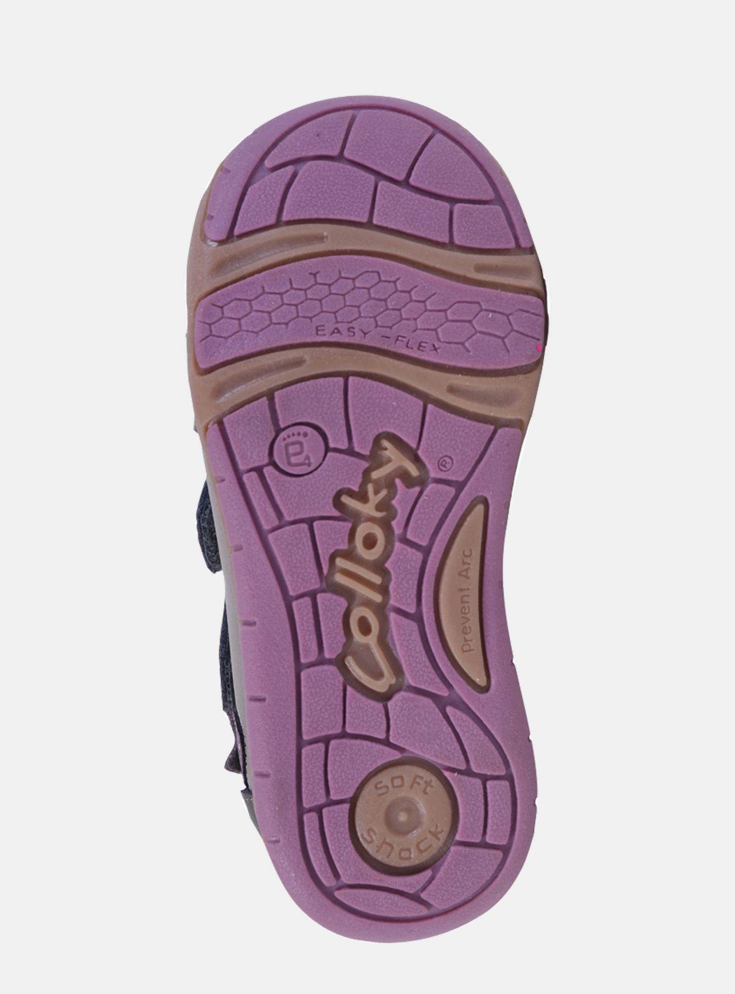 Botín Colloky Flor Gris Niña - Zapatos Bebé  d90fc13daf179