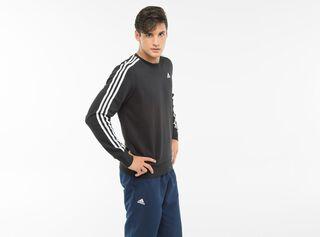 Polerón Adidas Deportivo Hombre ESS 3S Crew,Negro,hi-res