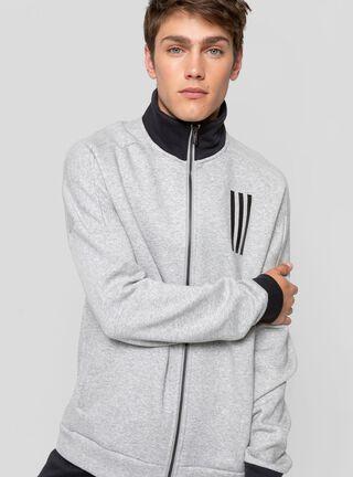 Polerón Hombre Sport Adidas,Gris,hi-res