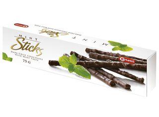 Chocolate Dark Crisp Mint 75 g Sticks,,hi-res