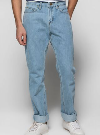 Jeans Básico Regular Fit Lee,Azul Petróleo,hi-res