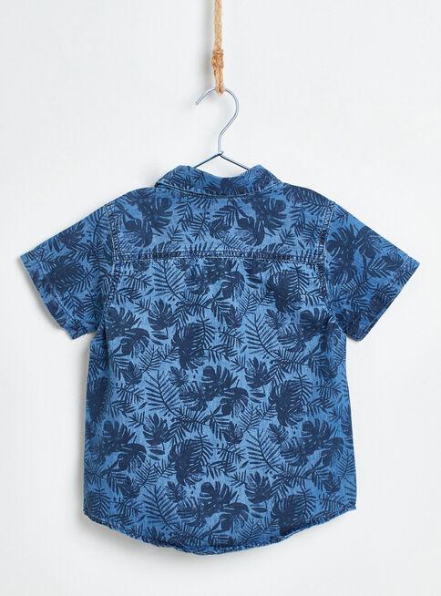 Camisa%20Mezclilla%20Floral%20Ni%C3%B1o%20Tribu%2CAzul%2Chi-res