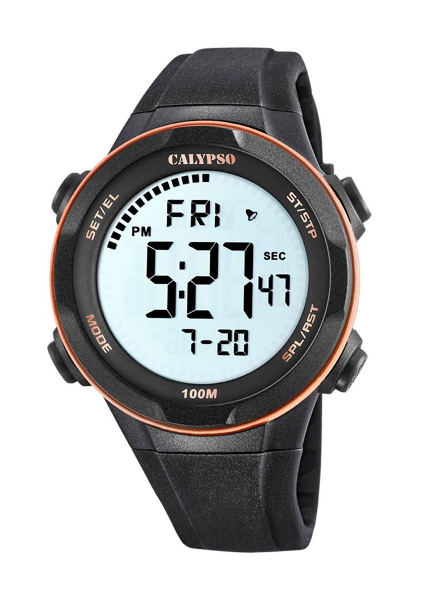 mejores zapatillas de deporte ca446 e7ff1 Reloj Digital Calypso Hombre K5780/6 Negro en Relojes | Paris