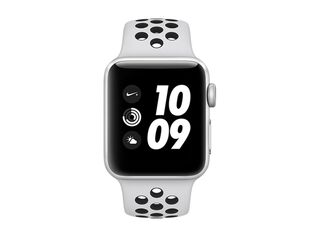 Apple Watch Nike+ S3 38mm Silver, correa Nike Sport platino puro/negra,,hi-res
