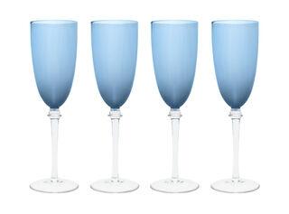 Set 4 Copas Champaña Azul Sarah Miller,,hi-res