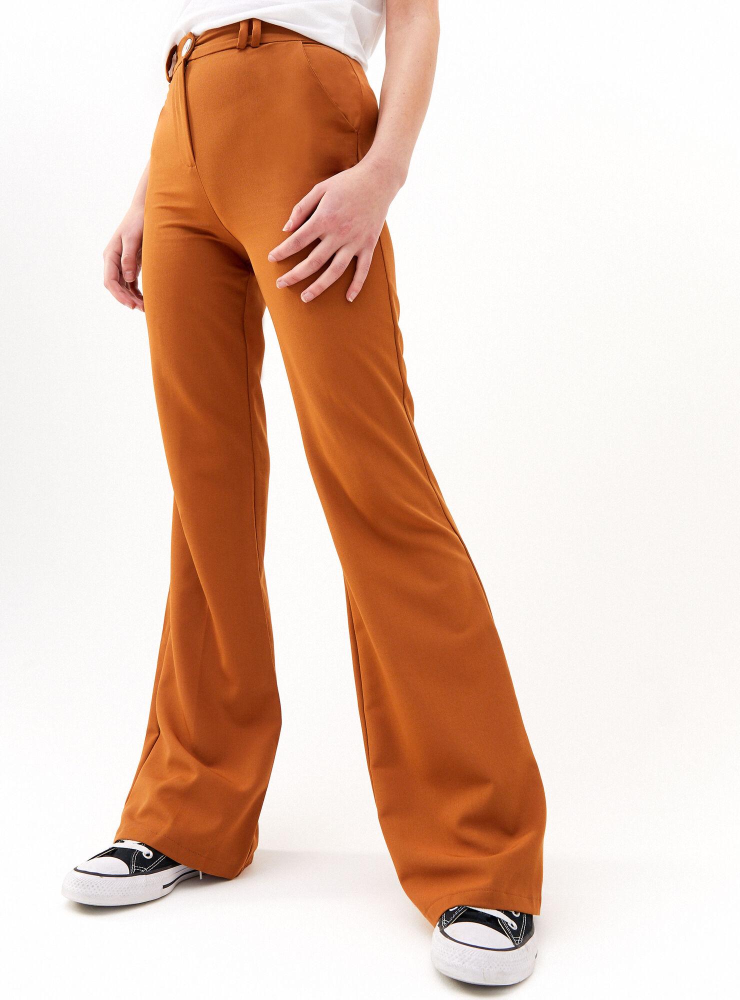 Pantalon Flare Bershka Jeans Y Pantalones Paris Cl