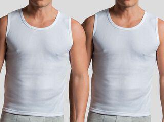 Pack 2 Camiseta Sin Mangas Mota,Blanco,hi-res