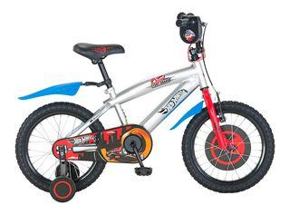Bicicleta Bianchi Hotwheels Aro 16 Hasta 120 cm,Plata,hi-res