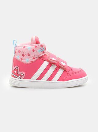 Zapatilla Adidas Hoops CMF Urbana Niño,Rosado,hi-res