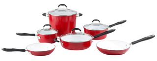 Batería de Cocina 10 Piezas Cerámica Elements Cuisinart,,hi-res