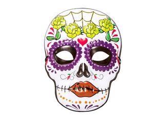 Máscara R.A. Catrina Adulto Carnaval,,hi-res