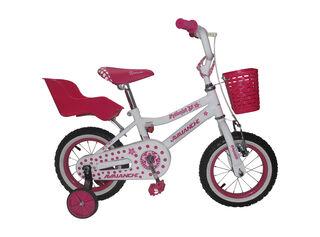 Bicicleta MTB Niña Avalanche Princess Aro 12 Hasta 90 cm,Blanco,hi-res