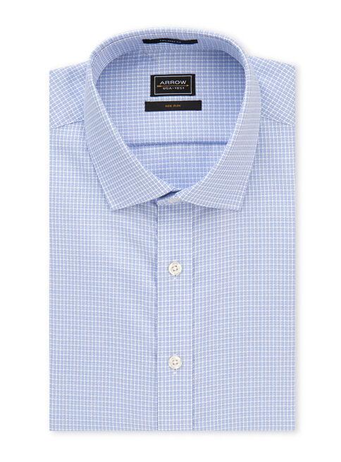 Camisa%20Non%20Iron%20a%20Cuadros%20Celeste%20Arrow%2CCeleste%2Chi-res
