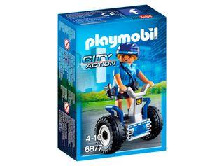 Mujer Policía con Balance Racer Playmobil,,hi-res