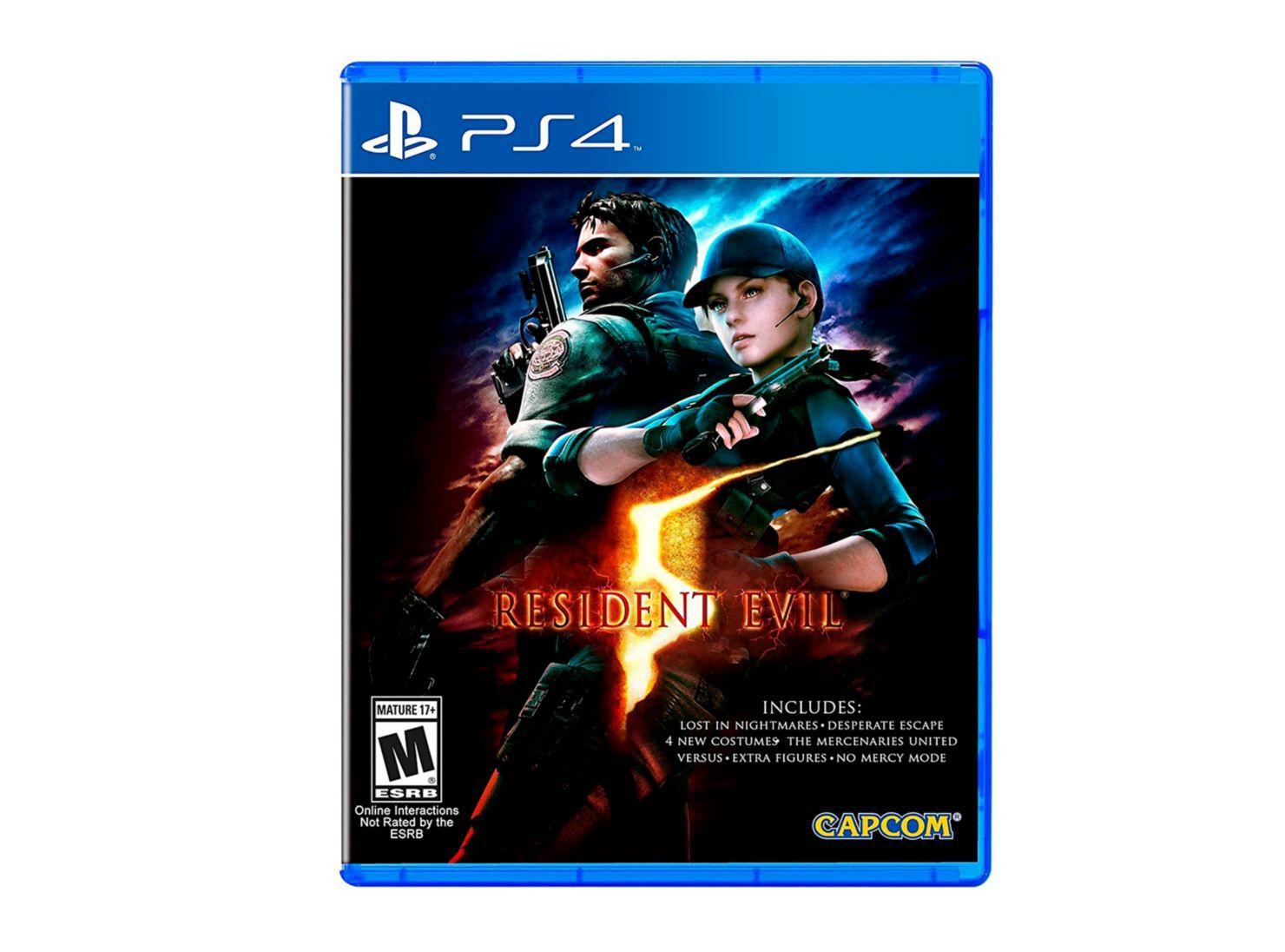 Juego Ps4 Resident Evil 5 Hd Juegos Ps4 Y Vr Paris