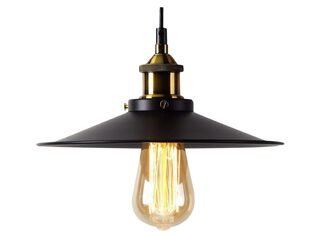 Lámpara Colgante Retro Industrial Metalica 1 Luz 22 cm Alaniz Home,,hi-res